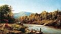 Allan Edson - Bûcherons sur la rivière Saint-Maurice (1868).jpg
