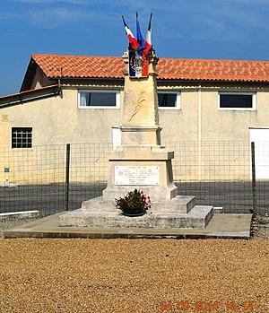 Allas-Champagne - Allas-Champagne War Memorial