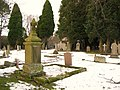 Allendale cemetery in the snow (3) - geograph.org.uk - 1707142.jpg