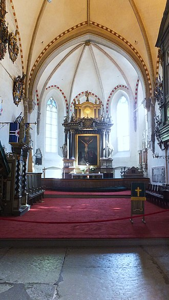 St Mary's Cathedral, Tallinn - Altar at the Cathedral