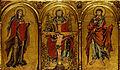 Altaraufsatz in drei Abteilungen mit dem Gnadenstuhl - Google Art Project.jpg
