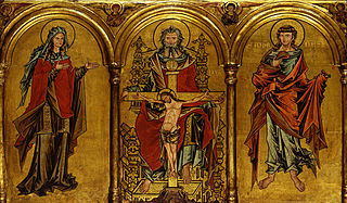 Altarpiece with depiction of the Trinity