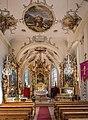 Alte Pfarrkirche Lech am Arlberg, Interior 04.JPG
