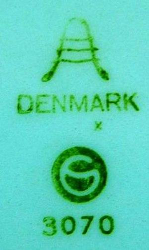 Aluminia - The Aluminia factory mark before 1969