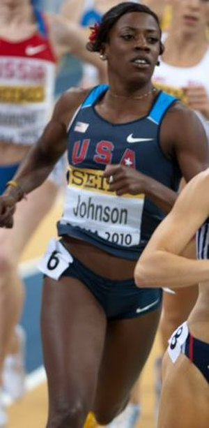 Alysia Montaño - Montaño at the 2010 World Indoor Championships in Athletics.