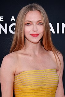 Amanda Seyfried American actress, model, and singer-songwriter