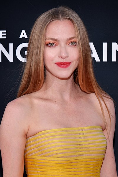 Amanda Seyfried, American actress, model, and singer-songwriter