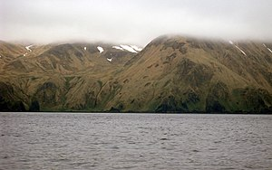 Amatignak Island - Amatignak coast.