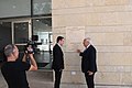 Ambassador Friedman interviews to Ch10 and Ch 2 (42302168471).jpg