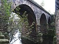 Ambergate - eastern railway viaduct over A6 - geograph.org.uk - 1552127.jpg