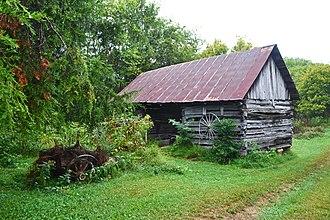 Gordonsburg, Tennessee - Ambrose Blackburn Farmstead original shed