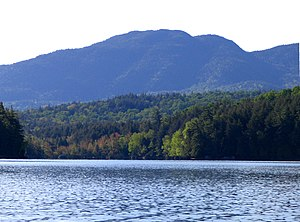 Ampersand Mountain - Ampersand Mountain from Middle Saranac Lake