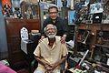 Amrit Gangar with Sushil Kumar Chatterjee - Kolkata 2017-02-23 0451.JPG