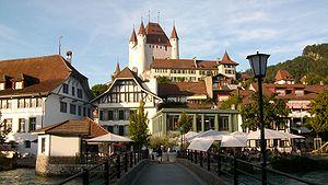 Schloss mit Altstadt