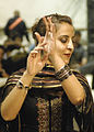 An Afghan woman performs a dance during the Eid ul-Fitr celebration at Bagram Airfield, Afghanistan, Sept 090922-F-TG495-185.jpg