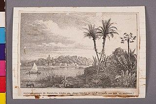 Ancienne Colonie de Parahyba, Fondée Padre Diogo Valdez em 1582. (D'Aprés Une Gravure Ancienne)