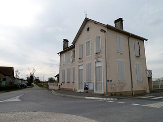 Auriac, Pyrénées-Atlantiques - Old Town Hall