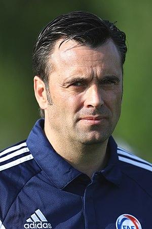 Koldo - Koldo managing Andorra in 2016