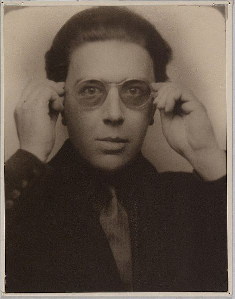 """André Breton, 1924. (Wikimedia Commons)  In the Surrealist Manifesto, Breton - influenced by Freud - defined surrealism as """"pure psychic automatism."""""""