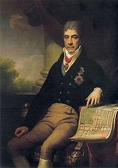 Portrait du Comte Razoumovski