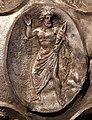 Anfora di baratti, argento, 390 circa, medaglioni, 08 nettuno.JPG