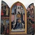 Angelico (scuola), madonna in trono e episodi vari, 1455 ca..JPG