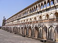 Another balcony of the nawabs for breathing in fresh air , bara imambara , lucknow.JPG