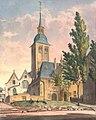 Ansicht der Johann Baptist Kirche in Cöln, Johann Peter Weyer (Zeichnung) und Anton Wünsch (Lithografie), 1827.jpg