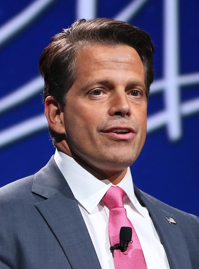 From commons.wikimedia.org: Anthony Scaramucci at SALT Conference 2016 (cropped) {MID-147479}