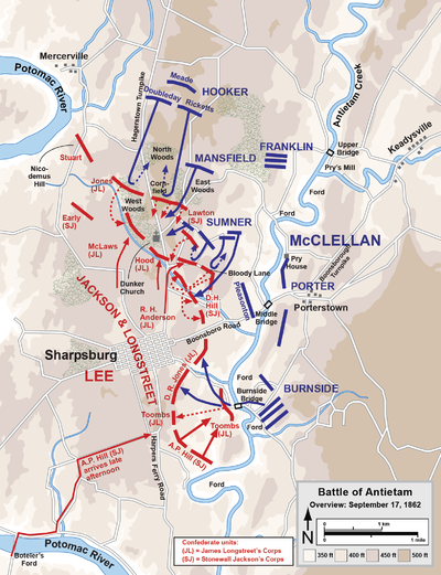 The Battle of Antietam quotThe Bloodiest Day of Battlequot Graphic Battles of the Civil War