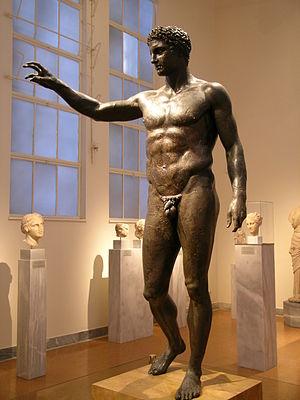 Antikythera Ephebe -  The Antikythera Youth or Ephebe
