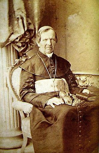 Anton Martin Slomšek - Photograph taken in Vienna in 1862.