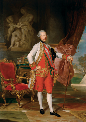 Joseph II, Holy Roman Emperor - Portrait by Anton von Maron, 1775