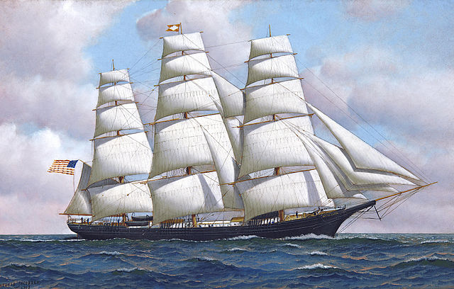 https://upload.wikimedia.org/wikipedia/commons/thumb/1/1b/Antonio_Jacobsen_-_The_American_clipper_ship_Flying_Cloud_at_sea_under_full_sail.jpg/640px-Antonio_Jacobsen_-_The_American_clipper_ship_Flying_Cloud_at_sea_under_full_sail.jpg