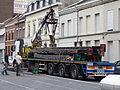 Anzin & Valenciennes - Travaux de raccordement des lignes A & B du tramway de Valenciennes à la Croix d'Anzin le 20 août 2013 (16).JPG