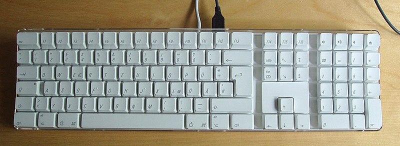 File:Apple Pro Keyboard (open top).jpg