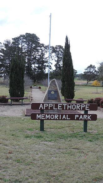 Applethorpe, Queensland - The Applethorpe Memorial Park