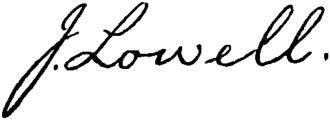 John Lowell - Image: Appletons' Lowell John signature
