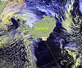 April 20, 2010, Ash plume from Eyjafjallajokull Volcano.jpg