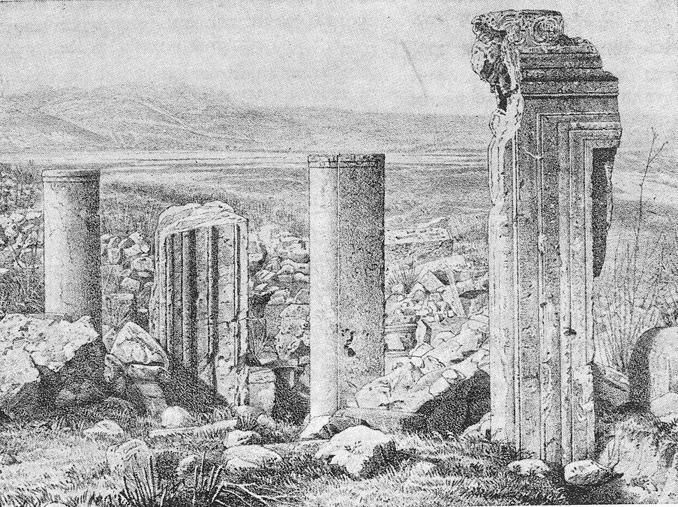 Arbel synagogue - Claude Conder 2