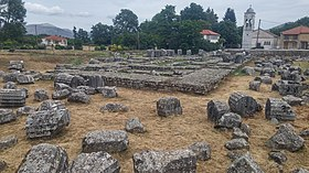 Archaeological site of the Temple of Athena Alea at Tegea (2017, image 1).jpg