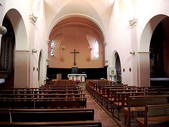 Ardoix - Image: Ardoix église intérieur