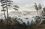 Arendal from Tromöe (JW Edy plate 19).jpg