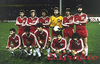 Argentinos Juniors - The team that won its first (and only to date) Copa Libertadores in 1985