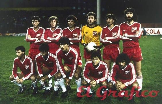 Argentinos juniors 1985