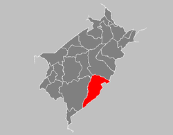 Location in Mérida