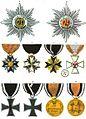 Aristide Michel Perrot - Collection historique des ordres de chevalerie civils et militaires (1820) pl. XXVIII.jpg