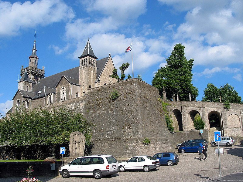 Arlon (Belgium): St. Donat's church (17th century).