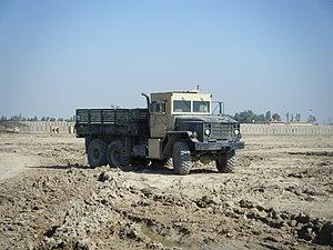Armored 5 ton dump truck