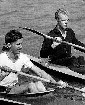 Arne Høyer - Arne Høyer (left) and Erik Hansen in 1960